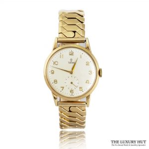 Tudor Rose Vintage 9ct Gold Presentation Watch - Order Online Today For Next Day Delivery
