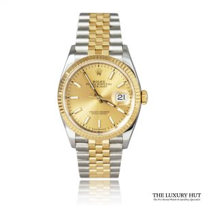 Shop Rolex Datejust 126233 Steel & Gold Champagne – 2018 - Order Online Today For Next Day Delivery