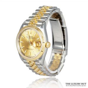 Shop Rolex Datejust 126233 Steel & Gold Champagne – 2018 - Order Online Today For Next Day