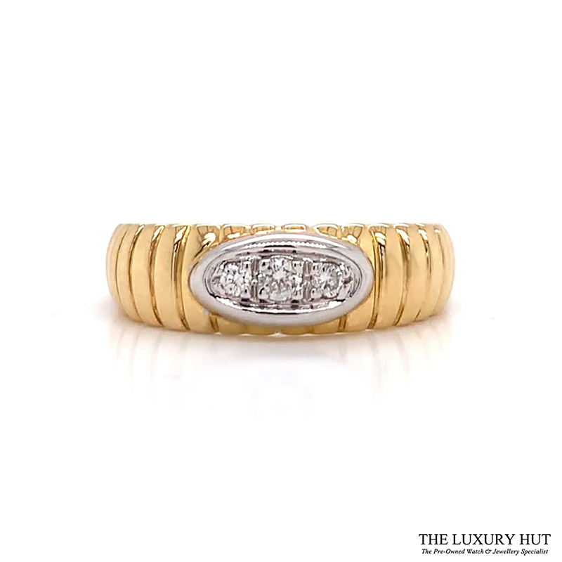 Shop Yellow Gold & Diamond Engagement Ring - Order Online Today for Next Day Delivery