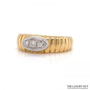 Shop Yellow Gold & Diamond Engagement Ring - Order Online Today for Next Day