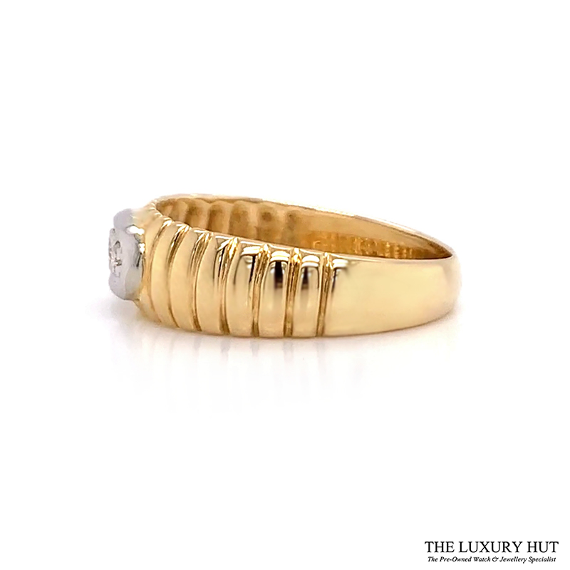 Shop Yellow Gold & Diamond Engagement Ring - Order Online