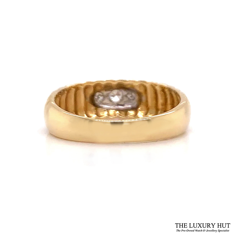 Shop Yellow Gold & Diamond Engagement Ring - Order