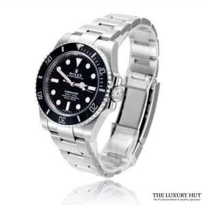 Rolex Submariner 40mm Steel Black Dial 114060 - Full Set - Order Online Today For Next Day