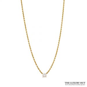 1990s Cartier Yellow Gold & 0.70ct Diamond Necklace - Order Online Today For Next Day Delivery