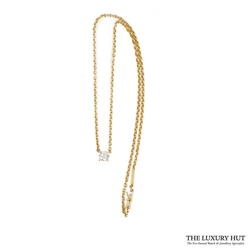 1990s Cartier Yellow Gold & 0.70ct Diamond Necklace - Order Online