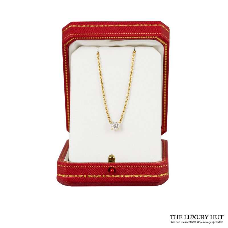 1990s Cartier Yellow Gold & 0.70ct Diamond Necklace - Order
