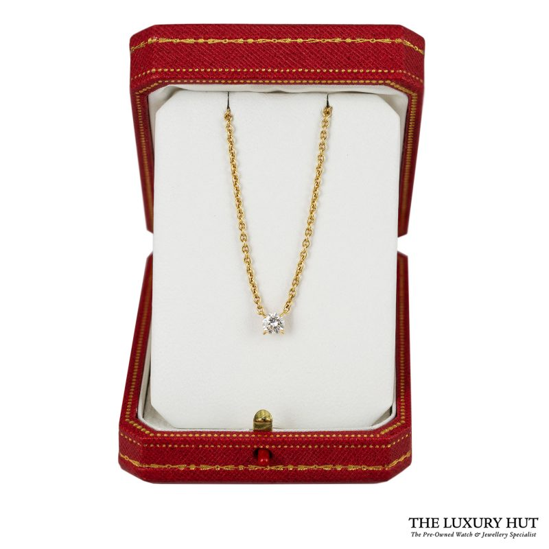1990s Cartier Yellow Gold & 0.70ct Diamond Necklace - Order Online Today