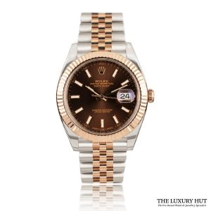 Rolex Datejust Steel & Rose Gold 126331 Chocolate Dial – 2017 - Order Online Today For Next Day Delivery