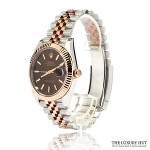 Rolex Datejust Steel & Rose Gold 126331 Chocolate Dial – 2017 - Order Online Today For Next Day