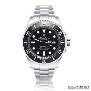 Rolex Sea-Dweller Deepsea 116660 Steel Black Dial - 2012 - Order Online Today For Next Day Delivery
