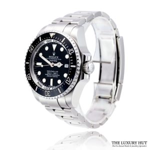 Rolex Sea-Dweller Deepsea 116660 Steel Black Dial - 2012 - Order Online Today For Next Day