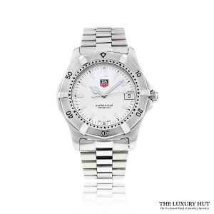 Tag Heuer Professional 200 Steel Quartz WK1112 - 2003 Full Set - Order Online Today For Next Day Delivery