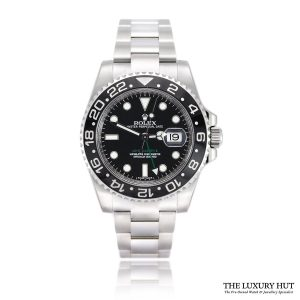 Rolex GMT Master II 40mm Steel 116710LN Black Dial - Full Set - Order Online Today For Next Day Delivery