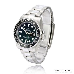 Rolex GMT Master II 40mm Steel 116710LN Black Dial - Full Set - Order Online Today For Next Day