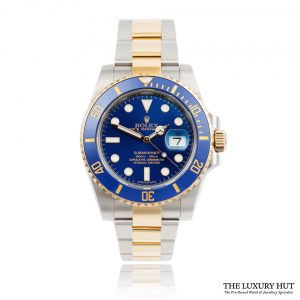 Rolex Submariner Bi-Metal Blue 116613LB - Full Set 2019 - Order Online Today For Next Day Delivery