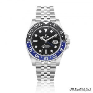 Rolex GMT Master 2 Batman 126710BLNR - 2020 Unworn Full Set - Order Online Today For Next Day Delivery