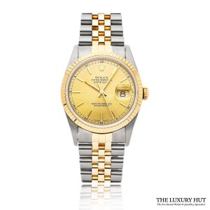 Rolex Datejust Steel & Gold 36mm Ref 16233 – 1994 - Order Online Today For Next Day Delivery