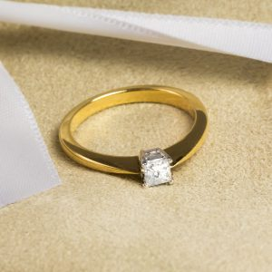 Shop 18CT Certified Princess Cut Diamond Rings - Order Online Today For Next Day Delivery