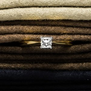 Shop 18CT Certified Princess Cut Diamond Rings - Order Online Today