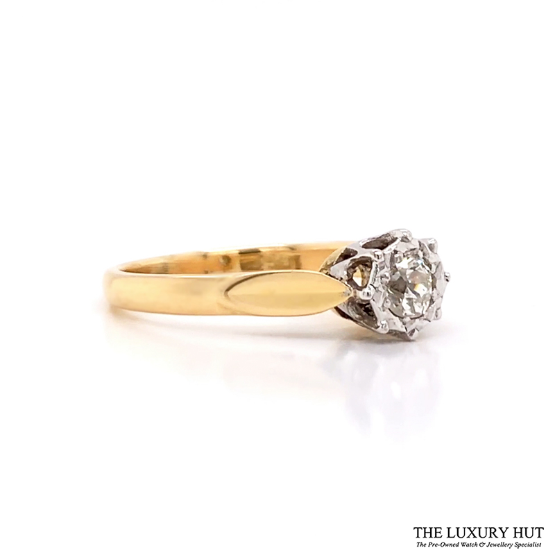 Shop 18ct Yellow & White Gold Diamond