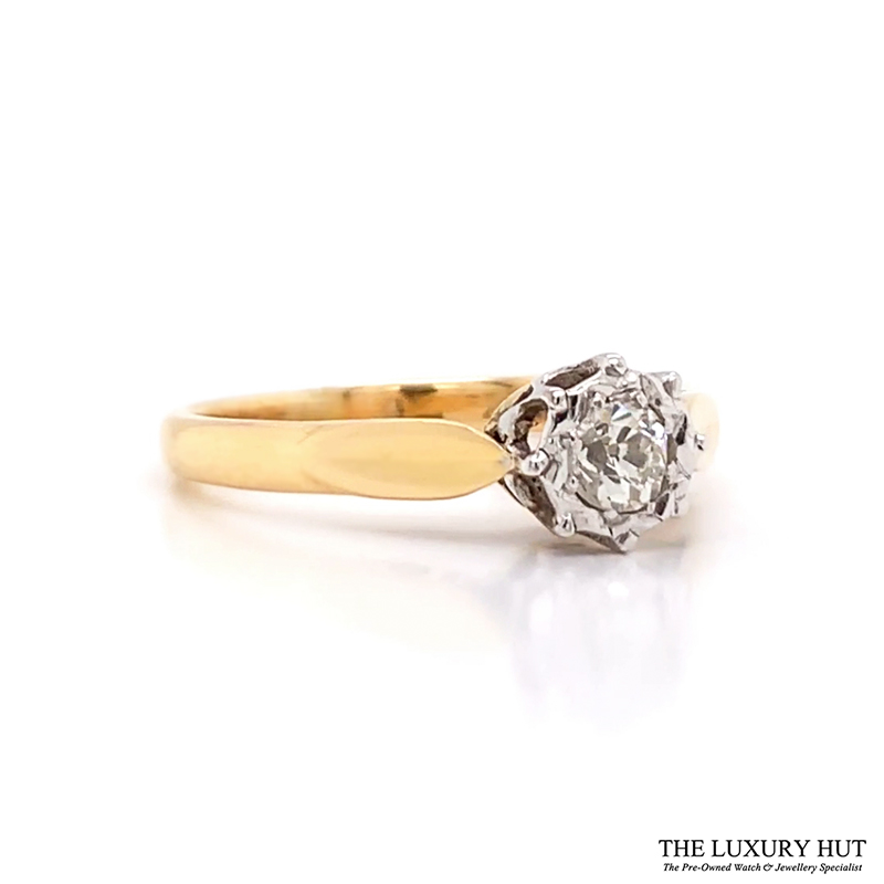 Shop 18ct Yellow & White Ring