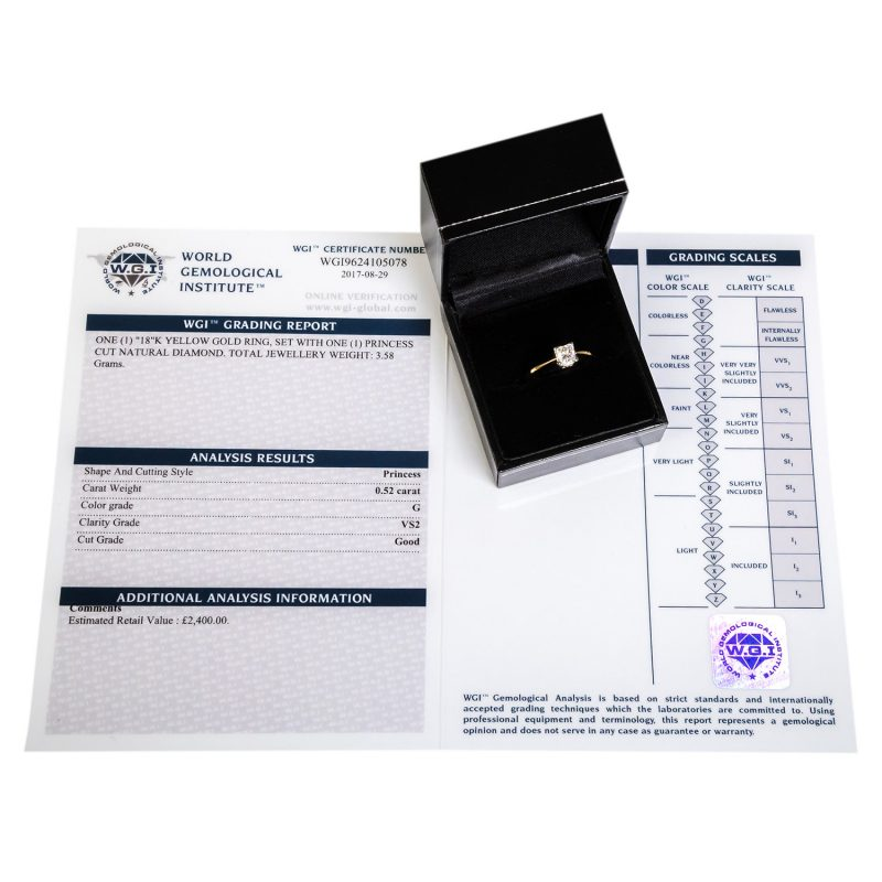 Shop Brand New Certified Diamond Rings - Order Online