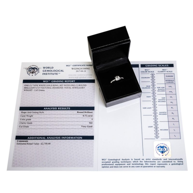 Shop Brand New Certified Diamond Rings - Order Online Today For Next Day Delivery - Sell Old Diamond Jewellery
