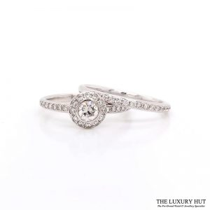 Shop 18ct White Gold Diamond Engagement Rings - Order Online Today For Next Day Delivery