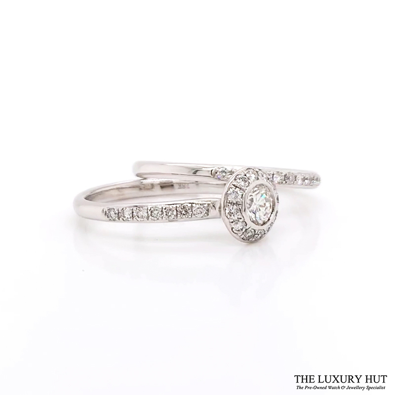 Shop 18ct White Gold Diamond Engagement Rings