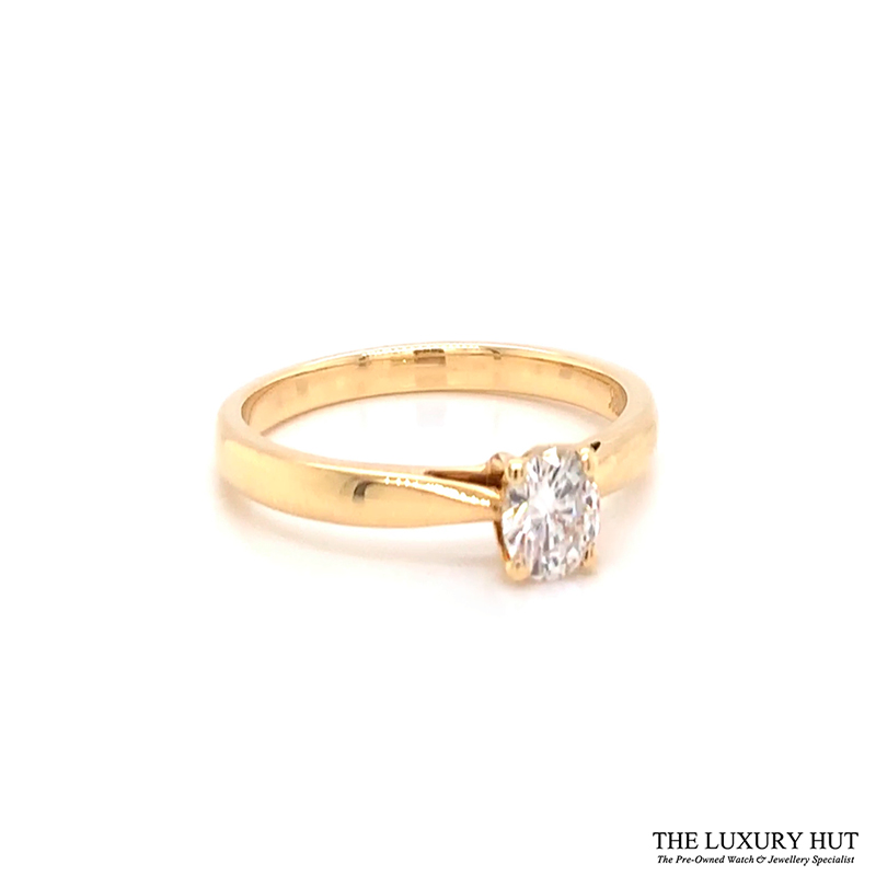 Shop 18ct Yellow Gold Diamond Engagement Ring - Order Online Today Delivery