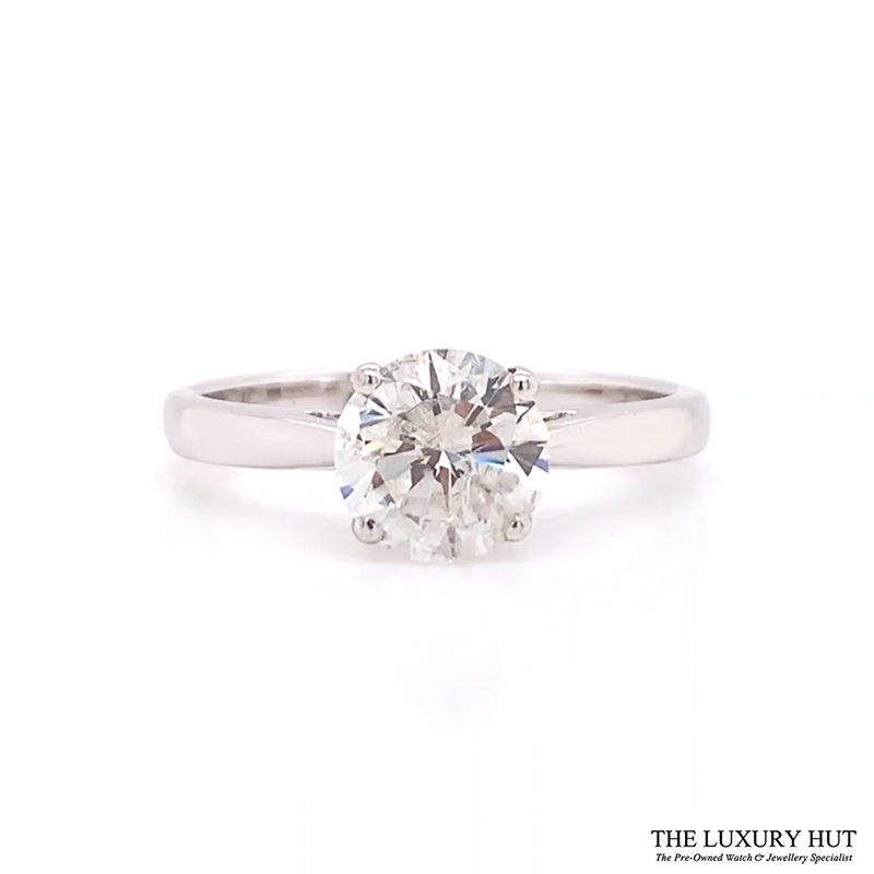 Shop Solitaire Diamond Engagement Rings - Order Online Today For Next Day Delivery