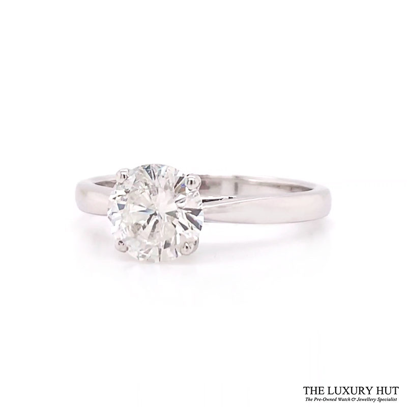 Shop Solitaire Diamond Engagement Rings - Order Online Today For Next Day