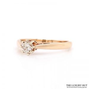 Shop 9ct Yellow Gold Diamond Solitaire Ring - Order Online Today for Next Day