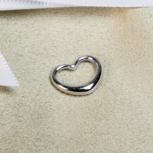 Shop 9CT White Gold Heart Pendant - Order Online Today for Next Day Delivery - Sell Your Jewellery to the Luxury Hut