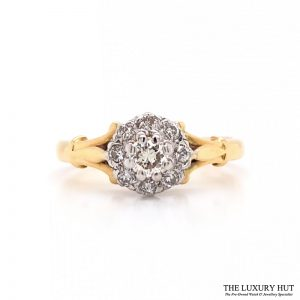 Shop 18ct Gold & Diamond Engagement Ring - Order Online Today For Next Day Delivery