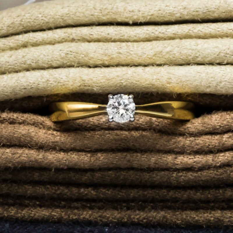Shop Certified Pre-Owned Diamond Engagement Rings - Order Online Today For Next Day