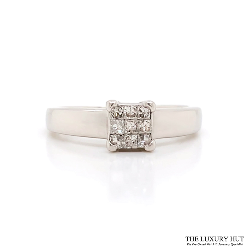 Shop Platinum Pre-Owned Diamond Rings - Order Online Today For Next Day Delivery