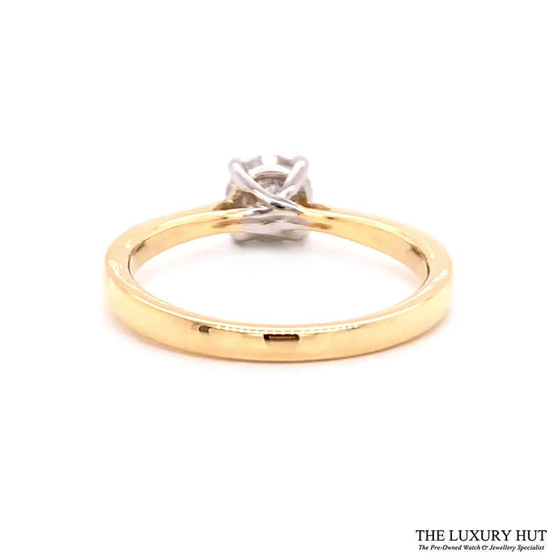 Platinum & 18ct Yellow Gold 0.71ct Diamond Engagement Ring Order Online Today