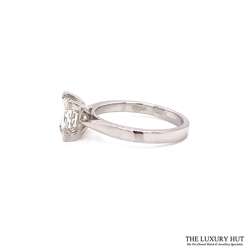 Platinum 1.69ct Princess Cut Diamond Solitaire Engagement Ring Order Online Today For Next Day Delivery - Sell