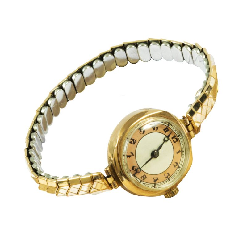 Ladies 9ct Yellow Gold Vintage Watch - Order Online Today