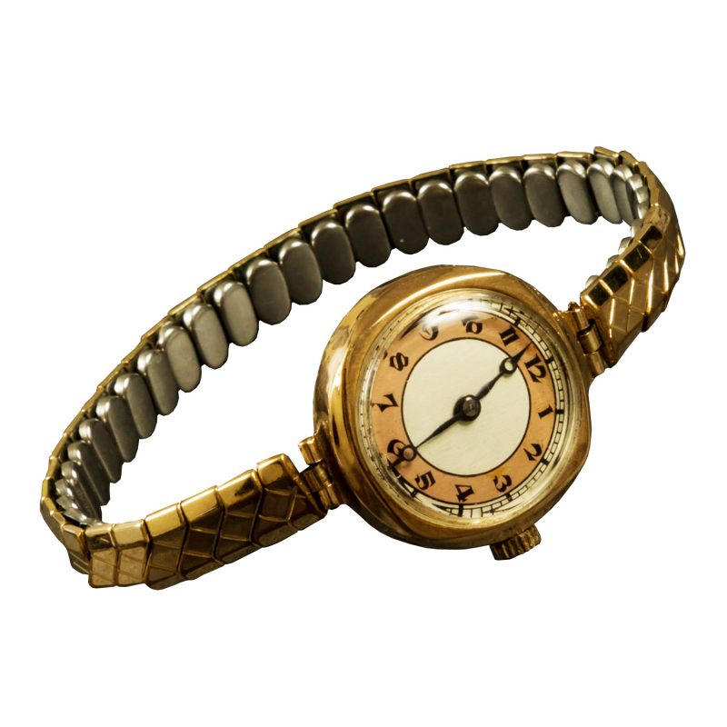 Ladies 9ct Yellow Gold Vintage Watch - Order