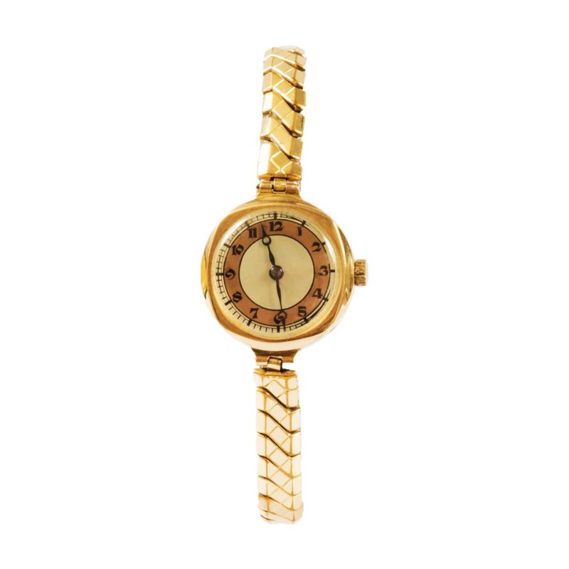 Ladies 9ct Yellow Gold Vintage Watch - Order Online Today For Next Day Delivery
