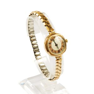 Ladies 9ct Yellow Gold Vintage Watch - Order Online Today For Next Day