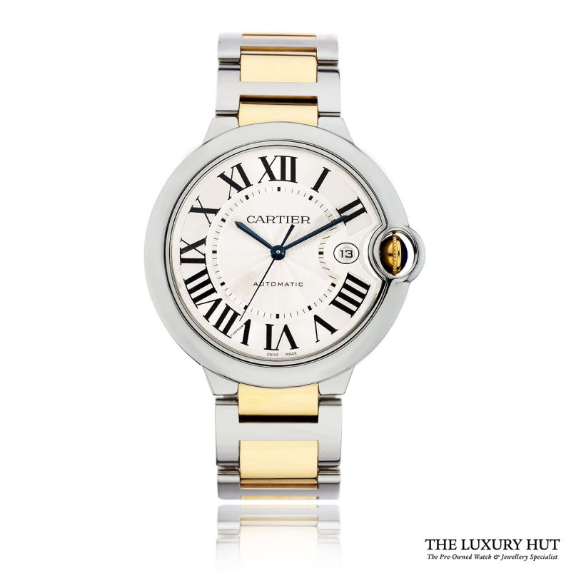 Shop Cartier Ballon Bleu 42mm Silver Dial W69009Z3 – 2015 - Order Online Today For Next Day Delivery