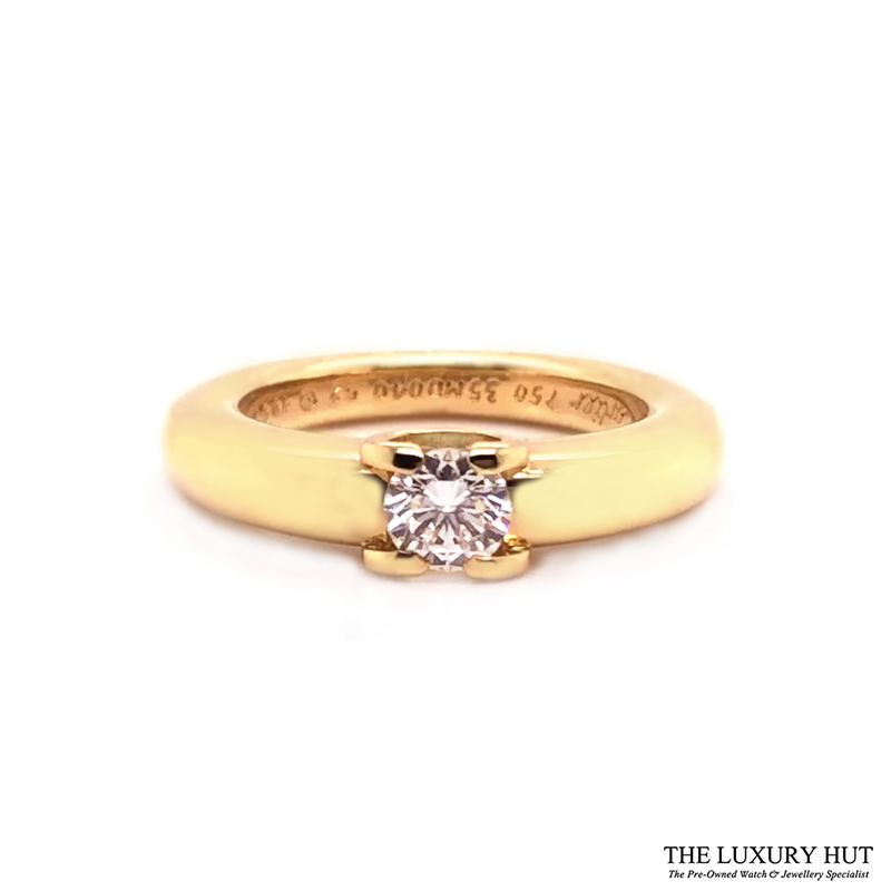 18ct Yellow Gold 0.40ct Solitaire Diamond Ring Order Online Today For Next Day Delivery