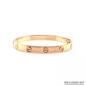 Cartier 18ct Yellow Gold Love Bracelet Order Online Today