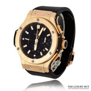 Hublot Big Bang 44mm Rose Gold Chronograph 2018 Full Set - Order Online Today For Next Day