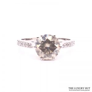 18ct White Gold & 2.5ct Diamond Solitaire Engagement Ring - Order Online Today For Next Day Delivery