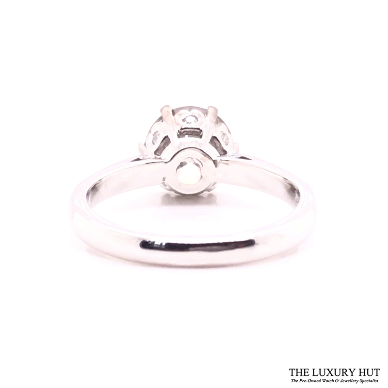 18ct White Gold & 2.5ct Diamond Solitaire Engagement Ring - Order Online